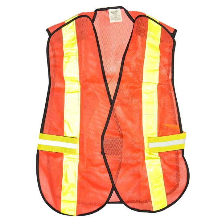 Comprar Chaleco de seguridad con cinta reflejante truper