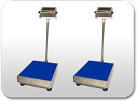 Balanza de plataformas de mediana capacidad