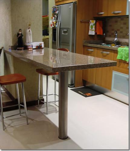 Comprar Mesas de cocina, Pedestal opalo