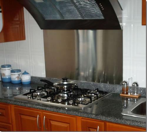 Comprar Artículos para la cocina de acero inoxidable, salpicadero