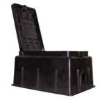 Comprar Caja Plástica Rectangular con apertura longitudinal 286mm