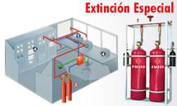 Comprar Sistemas de extinción de incendios
