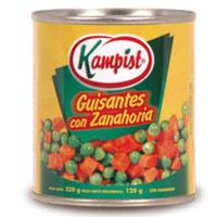 Comprar Guisantes con Zanahoria