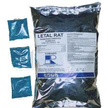 Comprar Rodenticida orgánico de segunda generación, Letal Rat