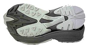Comprar Productos de caucho para la industria, suelas de goma termoplastica bicolor