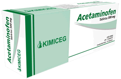 Fármacos antipiréticos, Acetaminofén