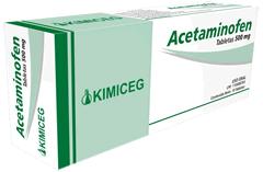 Comprar Fármacos antipiréticos, Acetaminofén