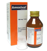 Comprar Amoxival 750 mg / 5mL