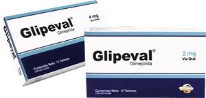 Comprar Drogas contra la diabetes, Glipeval