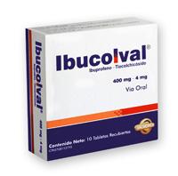 Ibucolval, Ibuprofeno - Tiocolchicósido