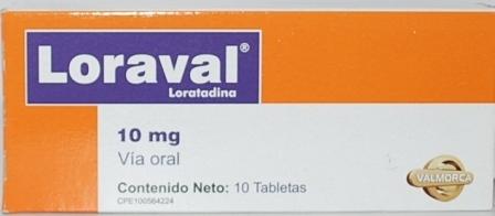 Tabletas medicinales, Loraval