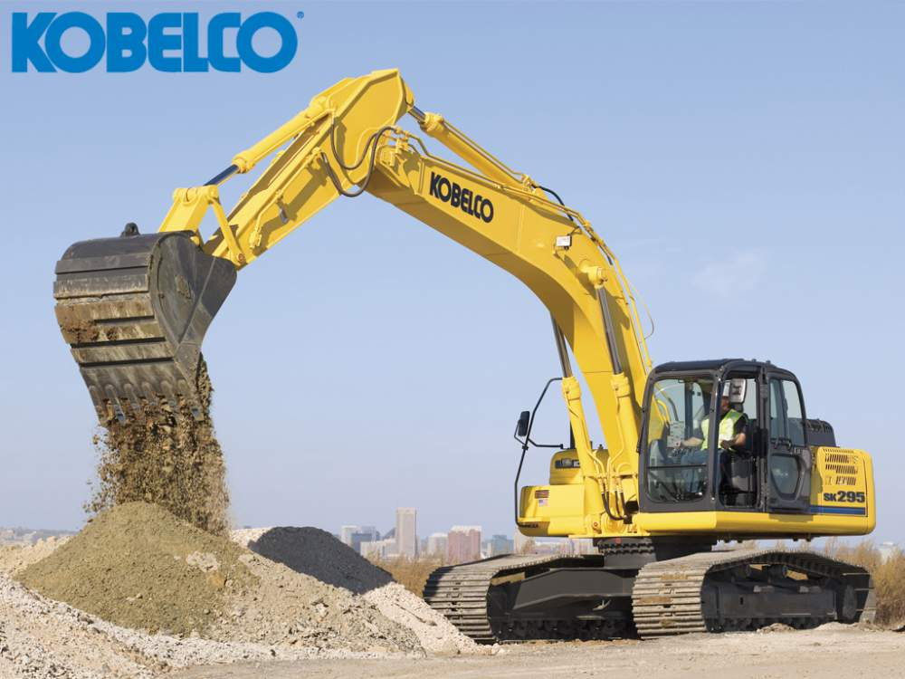 Comprar Excavadora hidráulica Kobelco SK295L