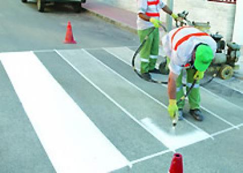 Comprar Pintura para señalización vial, Bitu - Traffic blanca