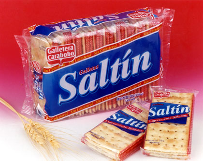 Galletas de soda saladas