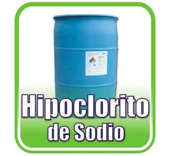 Comprar Hipoclorito de Sodio