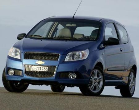Comprar Vehículo, de la clase media Chevrolet Aveo 3 Puertas