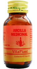Comprar Arcilla medicinal - Cápsulas - Frasco / 45 cap.