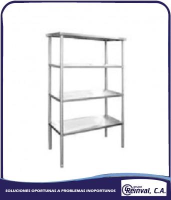 Comprar Restaurante equipamiento de cocina, estante en acero inoxidable