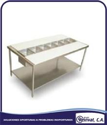 Comprar Mesa para preparación de ensaladas