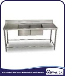 Comprar Fregadero industrial de acero inoxidable