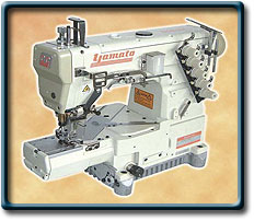 Compro Equipos de coser industriales Yamato interlock cama cilindrica CC2700-156M