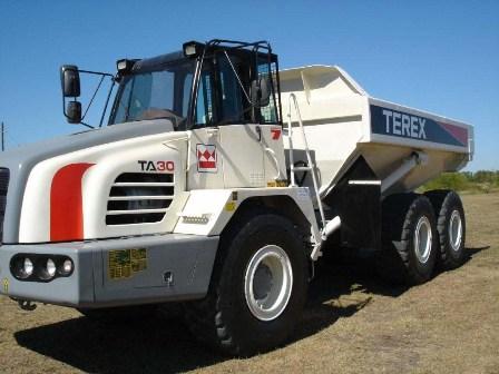 Comprar Camion volteo Terex TA 30