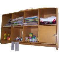 Comprar Mobiliario infanti, Estante aereo de 8 cubiculos c/ 1 puerta