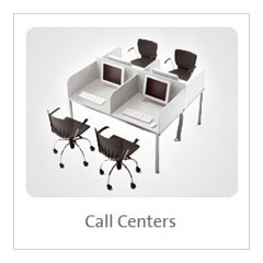 Muebles, call centers