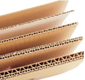 Comprar Cartón corrugado, Láminas