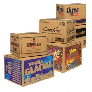 Comprar Cajas Corrugadas (Impresas en Flexografía y troqueladas)