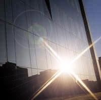 Vidrio de Control solar y aislamiento térmico
