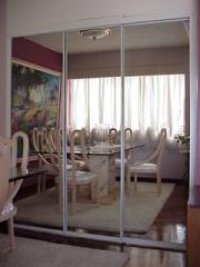 Puertas para closet en espejos