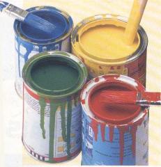 Pinturas resistentes a la para uso en exteriores