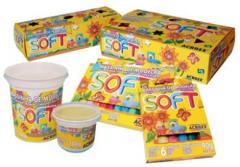 Kits para la creatividad, Masa modelar 3 potes de 150 gr col flour
