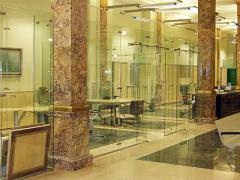 Tabiques de vidrio para la oficina