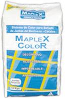 Sellador de juntas Maplex Color