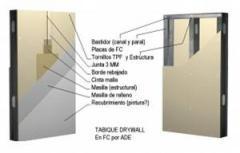 Paredes y Tabiques en Drywall