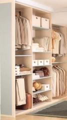 Closets sutiles detalles de distinción