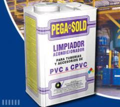 Limpiador para PVC