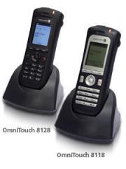Teléfonos OmniTouch 8118/8128 WLAN