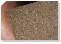 Cork papel tapiz para paredes