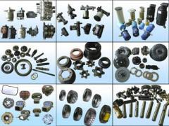 Partes y accesorios de equipo de construcción