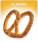 Almendra pretzel