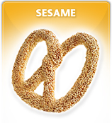 Productos Panadería, Sesame pretzel