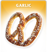 Productos panadería, El ajo pretzel