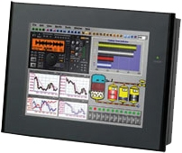 Monitor industrial con RS-232 o USB