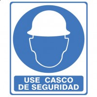 Señal Use Casco