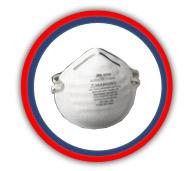 Respirador desechables 3M mod 8000