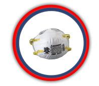 Respirador desechables 3M mod 8210