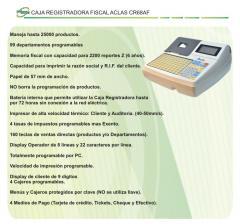 Caja registradora fiscal Aclas CR68AF